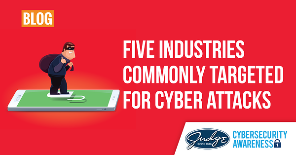 Cybersecurity_5IndustrysTargeted