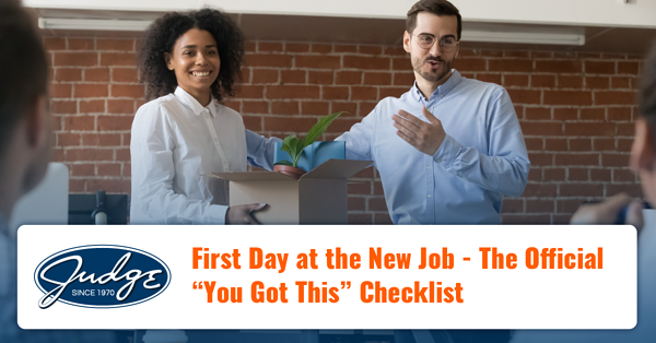 First Day at the New Job The Official You Got This Checklist